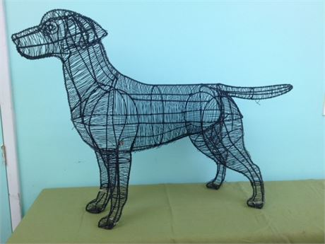 Large Wire Dog