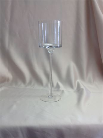 "12"" PEDESTAL CANDLE HOLDER"
